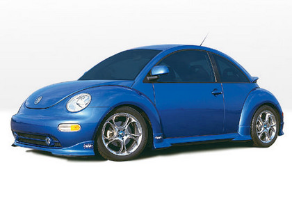 98-04 Volkswagen Beetle Wings West Type-W Body Kit - FULL KIT (Urethane)