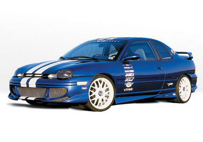 95-99 Chrysler Neon 4DR Wings West Body Kit - FULL KIT (Urethane)