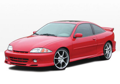 00-02 Chevrolet Cavalier Wings West W-Type Body Kit - FULL KIT (Urethane)