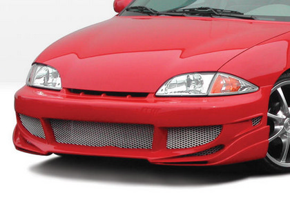 00-02 Chevrolet Cavalier 2DR Wings West Avenger Body Kit - Front Bumper (Urethane)