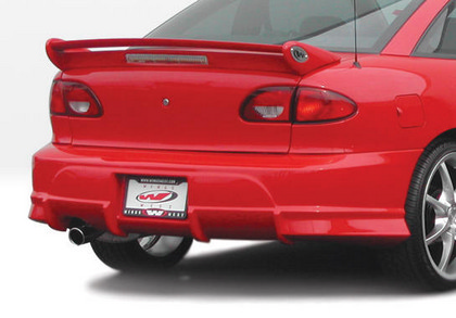 00-02 Chevrolet Cavalier 2DR Wings West Avenger Body Kit - Rear Bumper (Urethane)