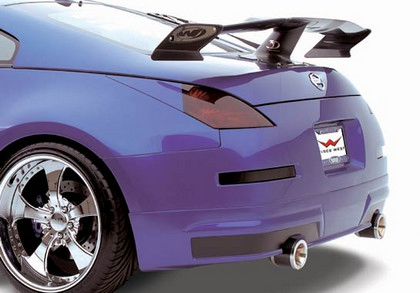 2003-2008 Nissan 350z Wings West Body Kit - Rear Bumper Lip (Urethane)