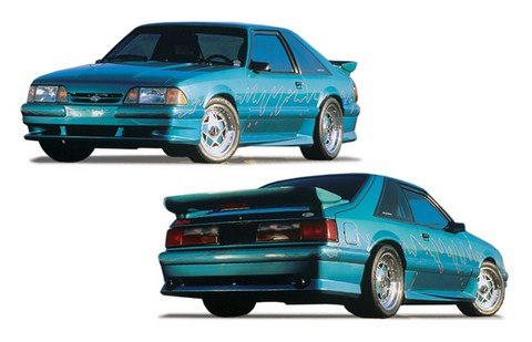 83-86 Mustang (not GT) Xenon Body Kit (Urethane)