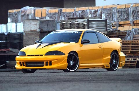 00-02 Chevrolet Cavalier 2DR Xenon 11260 Body Kit - Full Kit (Urethane)