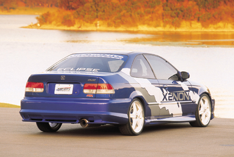 4364 xenon body kit rear valance urethane at andy 39 s for Garage mitsubishi valence