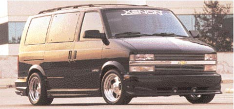 95-03 GMC Safari Van Xenon 5650 Body Kit - Full Kit (Urethane)