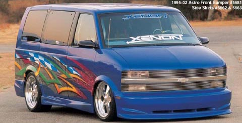 95-03 GMC Safari Van Xenon 5680 Body Kit - Full Kit (Urethane)