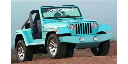 97-04 Jeep Wrangler TJ Xenon Wrangler Design Body Kit - Full Kit (Urethane)