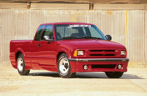 96-97 GMC Sonoma Pickup 3DR Fleetside Xenon Body Kit - FULL KIT (Urethane)