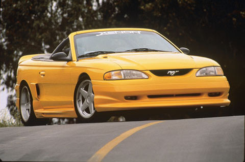 1994-1998 Ford Mustang Xenon Body Kit - Side Skirt (Right) (Urethane)