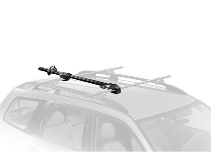07-13 Toyota Fj Cruiser Naked Roof - Fixed Point Yakima Bike Package - Forklift Universal Fork Mount with Whispbar S8 Flush Tower