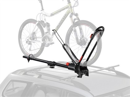 08-09 Saturn Vue/Vue Hybrid Naked Roof Yakima Bike Package - Frontloader with Whispbar T16 Hdxb Tower