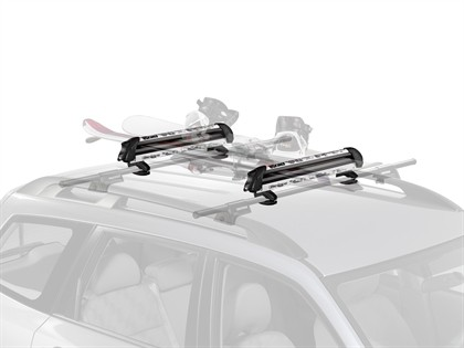 09-13 Volkswagen Tiguan Optional Crossbars;;08-11 Volkswagen Tiguan (Australia) Optional Crossbars Yakima Snow - Freshsesh (W/Locks)