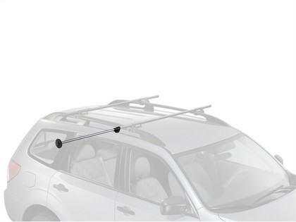 07-12 Dodge Caliber Naked Roof Yakima Water Package - Boatloader with Whispbar T16 Hdxb Tower
