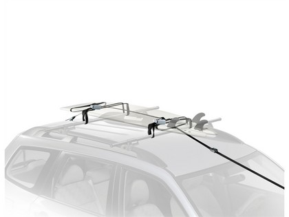 09-12 Nissan Murano Naked Roof Yakima Water Package - Wavehog with Whispbar S7 Flush Tower