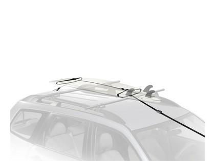07-12 Dodge Caliber Naked Roof Yakima Water Package - S.U.P. Brah with Whispbar S16 Through Tower