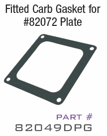 For Use On V8 Engines ZEX? Dominator Perimeter Plate Gasket