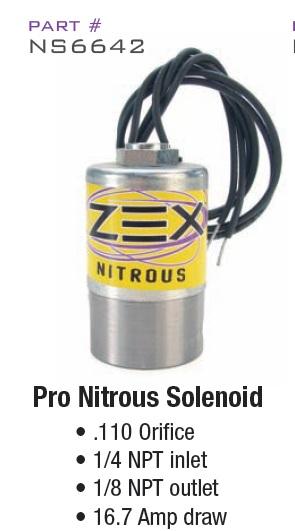 HI-FLOW NITROUS COMP Cams NS6642 SOLENOID