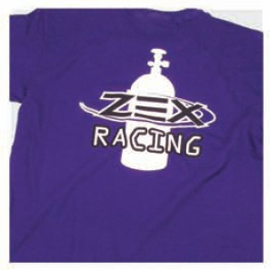 Zex COMP Cams Z109-XXL T-Shirt Purple Racing Xx-Large